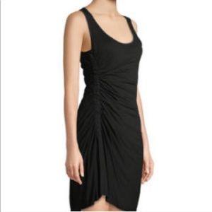 ALC Lelah Ruched Tank Black Dress XS